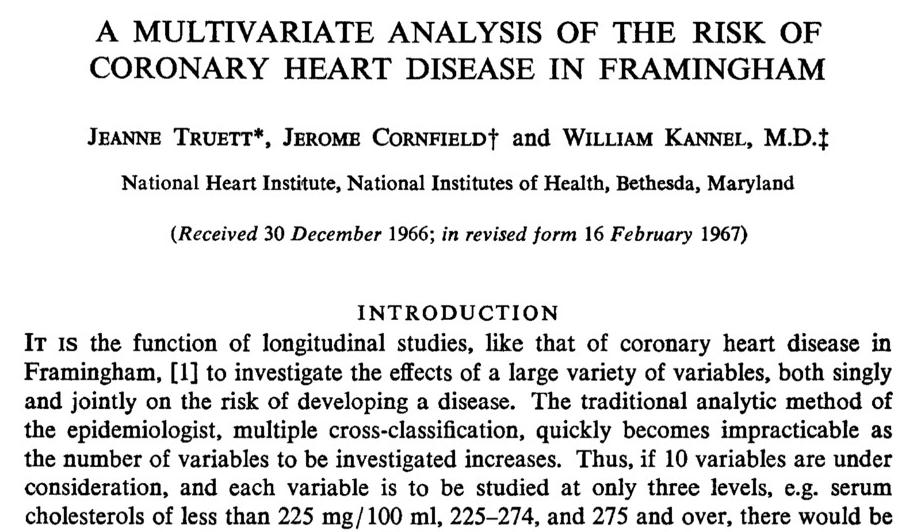 Regressão logística na epidemiologia (e medicina): o nascimento!