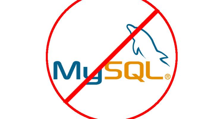 Por que não usar o MySQL?